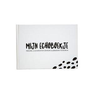 Echoboekje zwart wit
