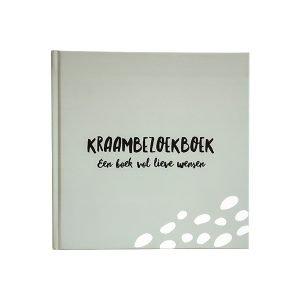 kraambezoekboek grijsgroen