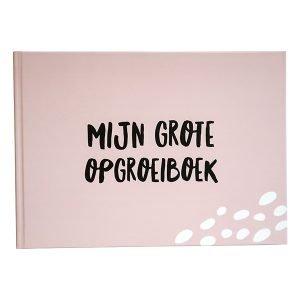 opgroeiboek roze