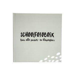 schoolfotoboek grijsgroen