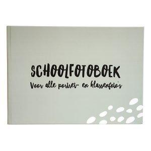 schoolfotoboek xl grijsgroen